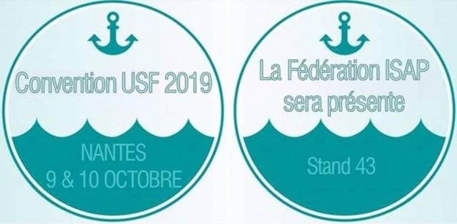 ISAP à l'USF 9 & 10 octobre 2019 à Nantes - Venez rencontrer nos experts Stand 43